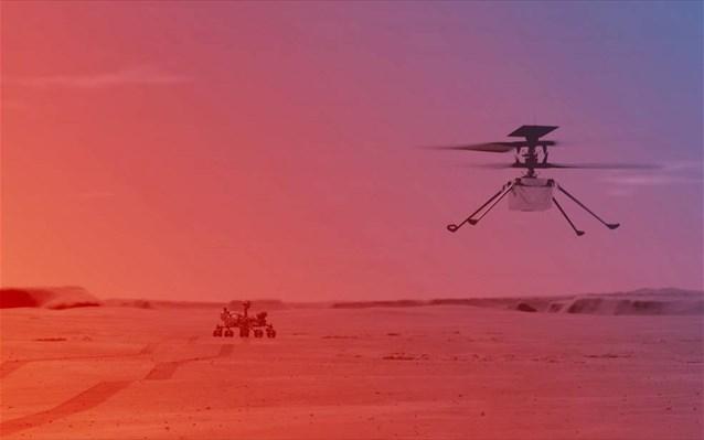 NASA: Ανοίγει το δρόμο για την πρώτη πτήση ελικοπτέρου σε άλλο πλανήτη [pics, vid]