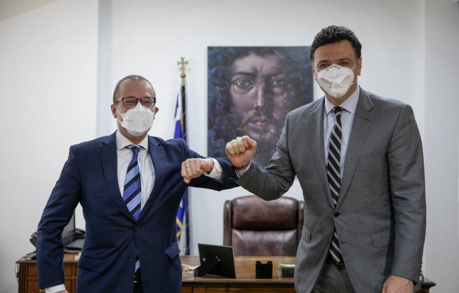 Νέο Γραφείο ΠΟΥ Αθήνα: Υπεγράφη η συμφωνία για το νέο γραφείο του ΠΟΥ στην Αθήνα