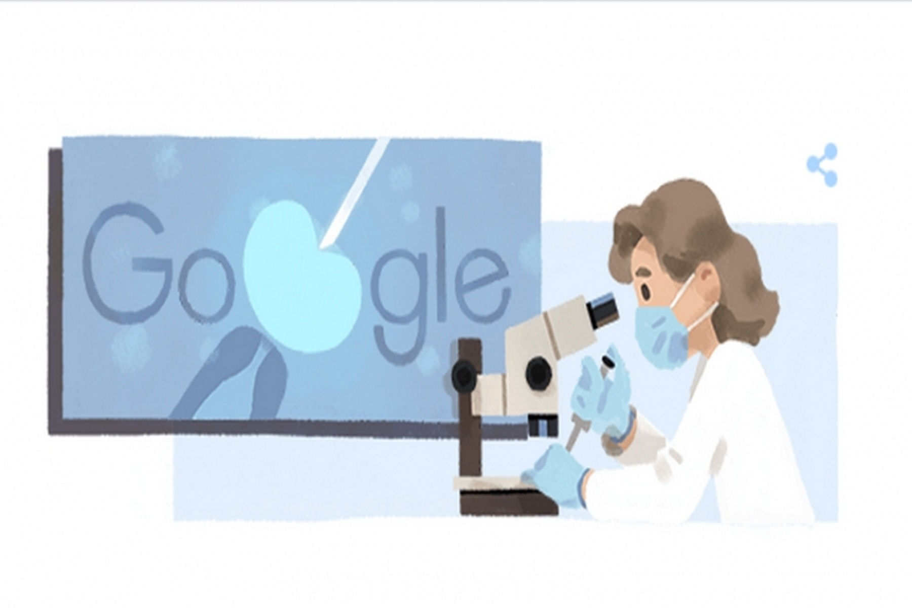 Αν Μακλάρεν: Το google την τιμά με ένα doodle