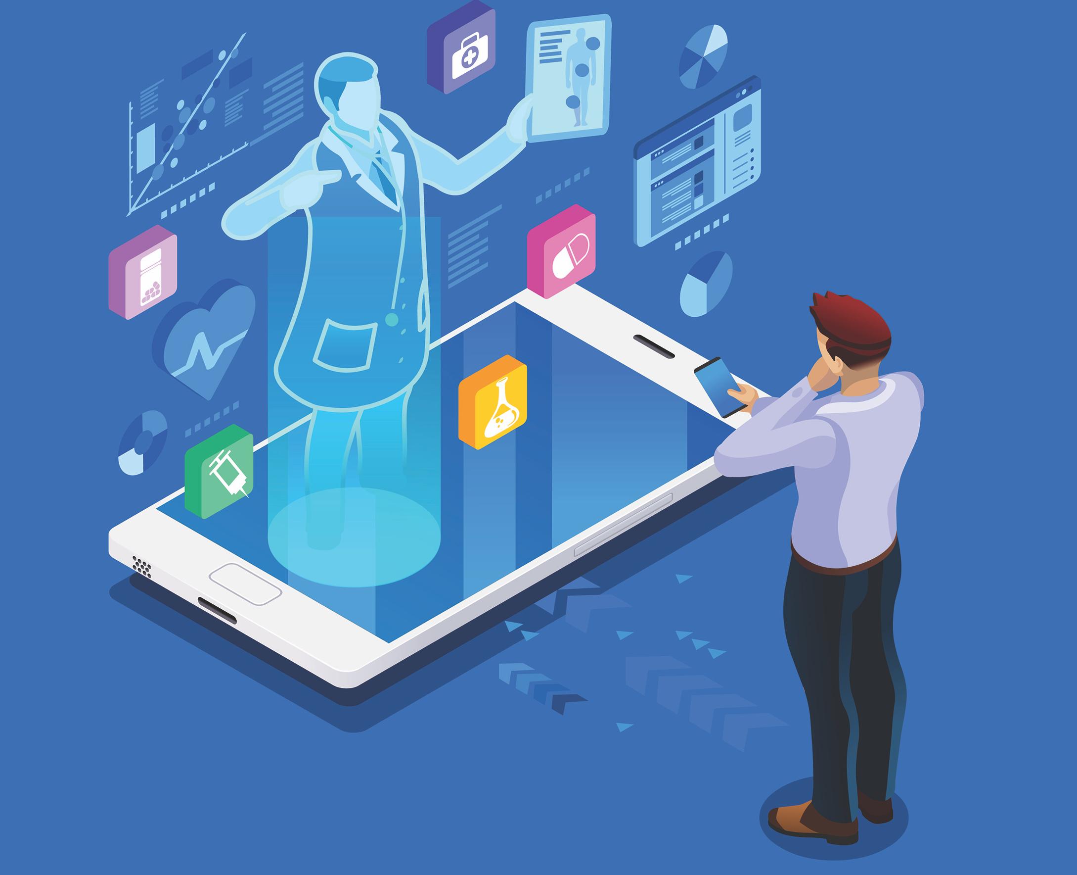 Ψηφιακή υγεία: Οι τέσσερις πυλώνες ενίσχυσης στον τομέα της υγείας