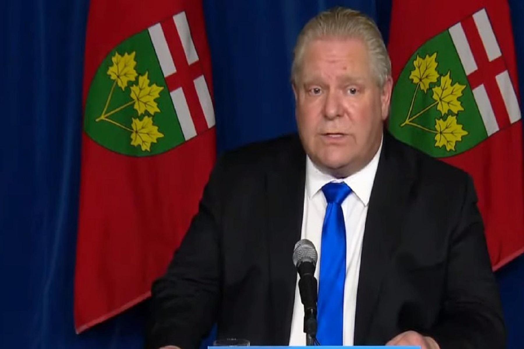 Καναδάς Covid-19: Από τις 3 Απριλίου lockdown στο Οντάριο λόγω του 3ου κύματος κορωνοϊού