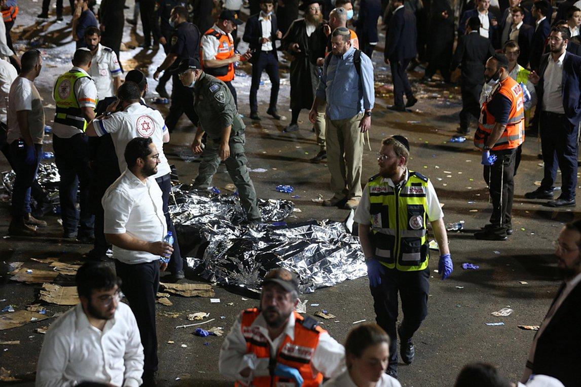 Ισραήλ τραγωδία νεκροί: Δεκάδες νεκροί από γιγαντιαίο ποδοπάτημα σε θρησκευτική γιορτή [pics, vid]