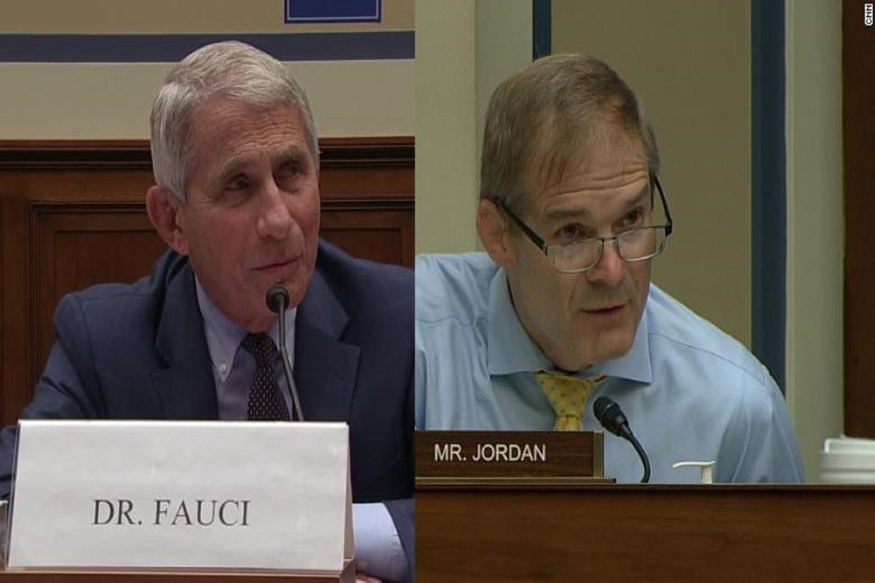 "Jim Jordan Antony Fauci: Πείτε μας πότε ""επιστρέφουμε στη ζωή μας"""
