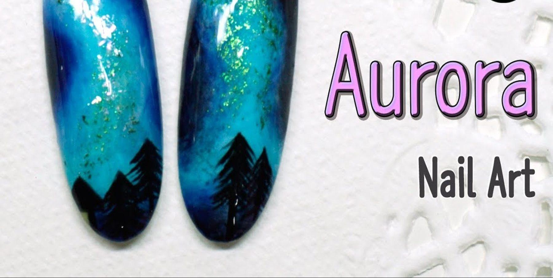 Aurora nails: Η απόλυτη τάση για τα νύχια