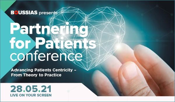 Συνέδριο Partnering for Patients: Αναγκαία και επιτακτική η υιοθέτηση μιας Ασθενοκεντρικής Στρατηγικής στο χώρο της Υγείας