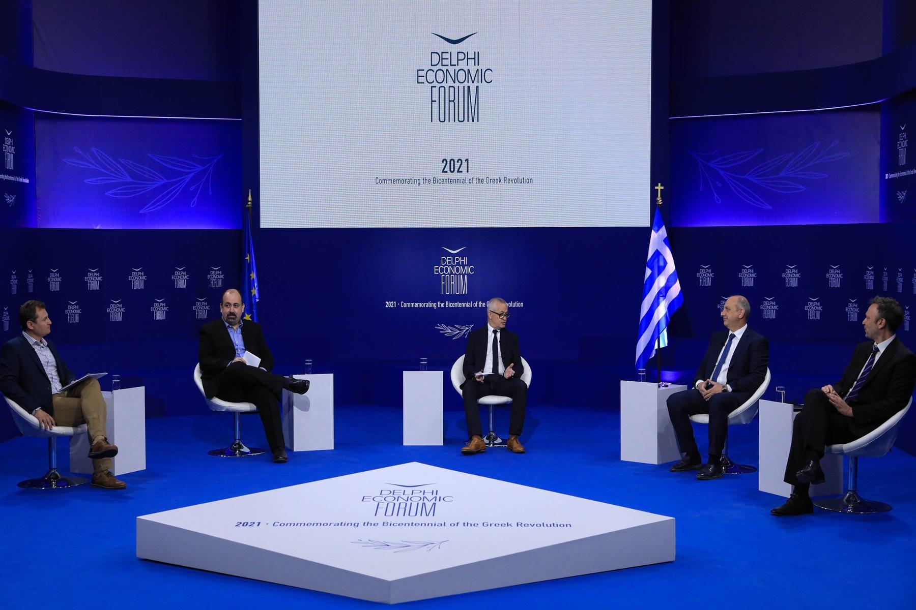 Bayern hellas Delphi economic forum : Το βλέμμα μας είναι στραμμένο στο μέλλον