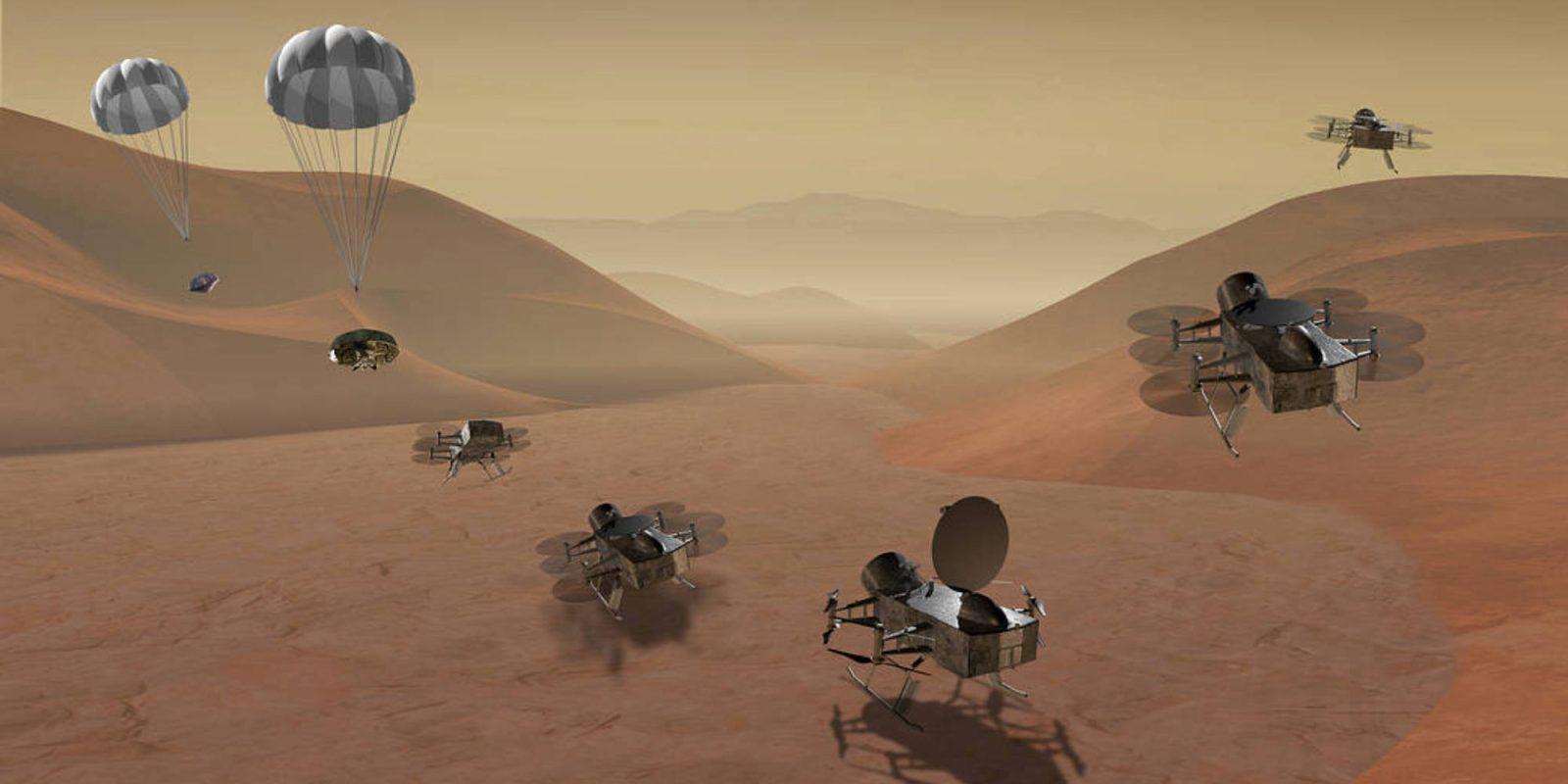 Drone Nasa Άρης: Συνεχίζει τις πτήσεις του στον Άρη το drone της Nasa