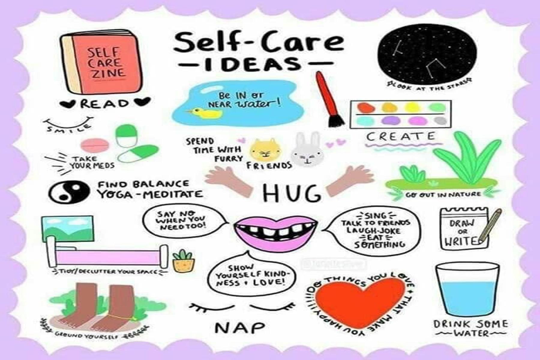 Αυτοφροντίδα : Συμβουλές για να διαμορφωσεις την καθημερινή σου ρουτίνα