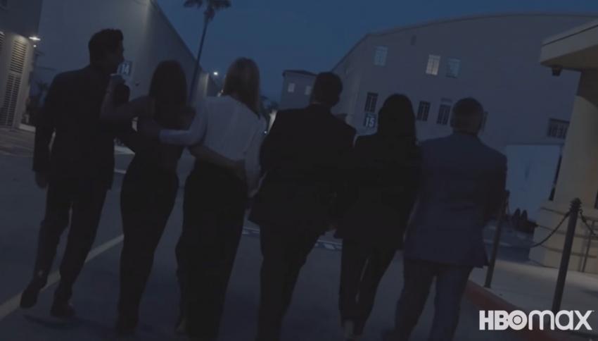 Friends Reunion: Οι backstage φωτογραφίες που αποκάλυψε η Τζένιφερ Άνιστον [vid, pics]