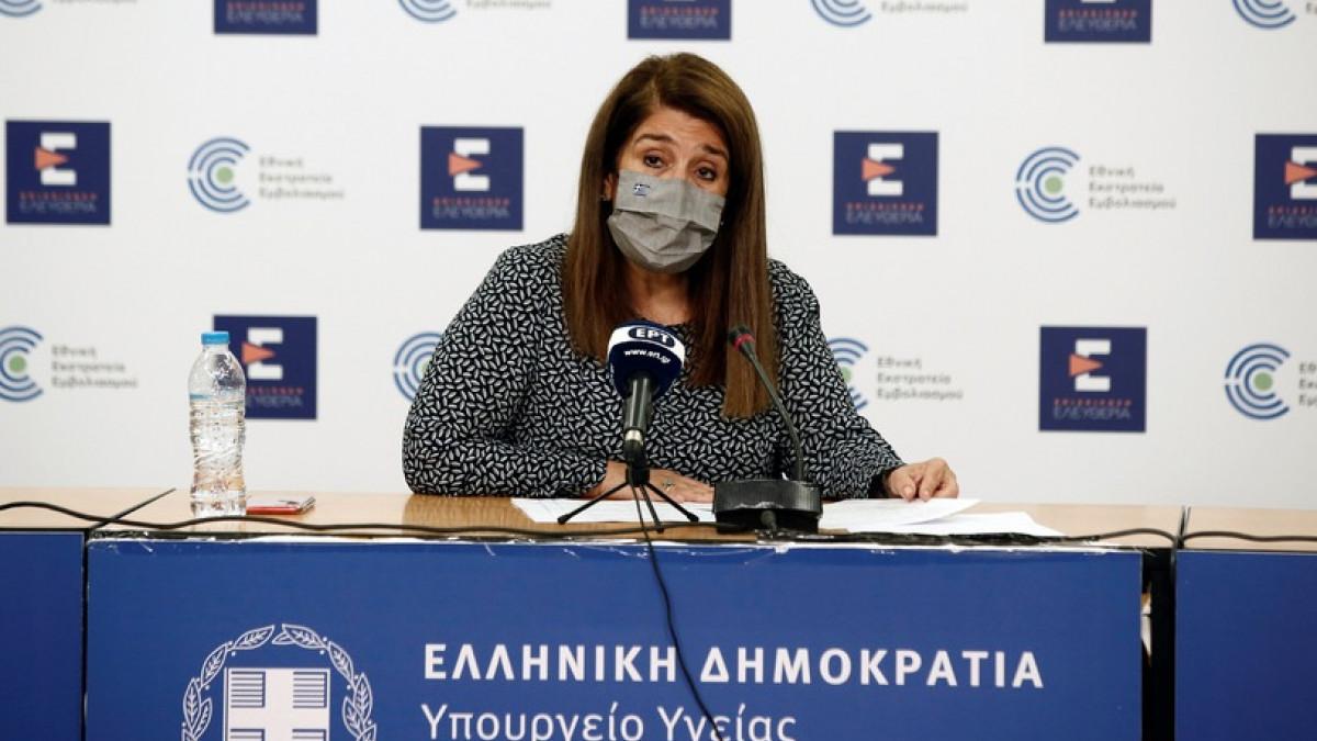 Βάνα Παπαευαγγέλου: Βελτίωση της επιδημιολογικής εικόνας