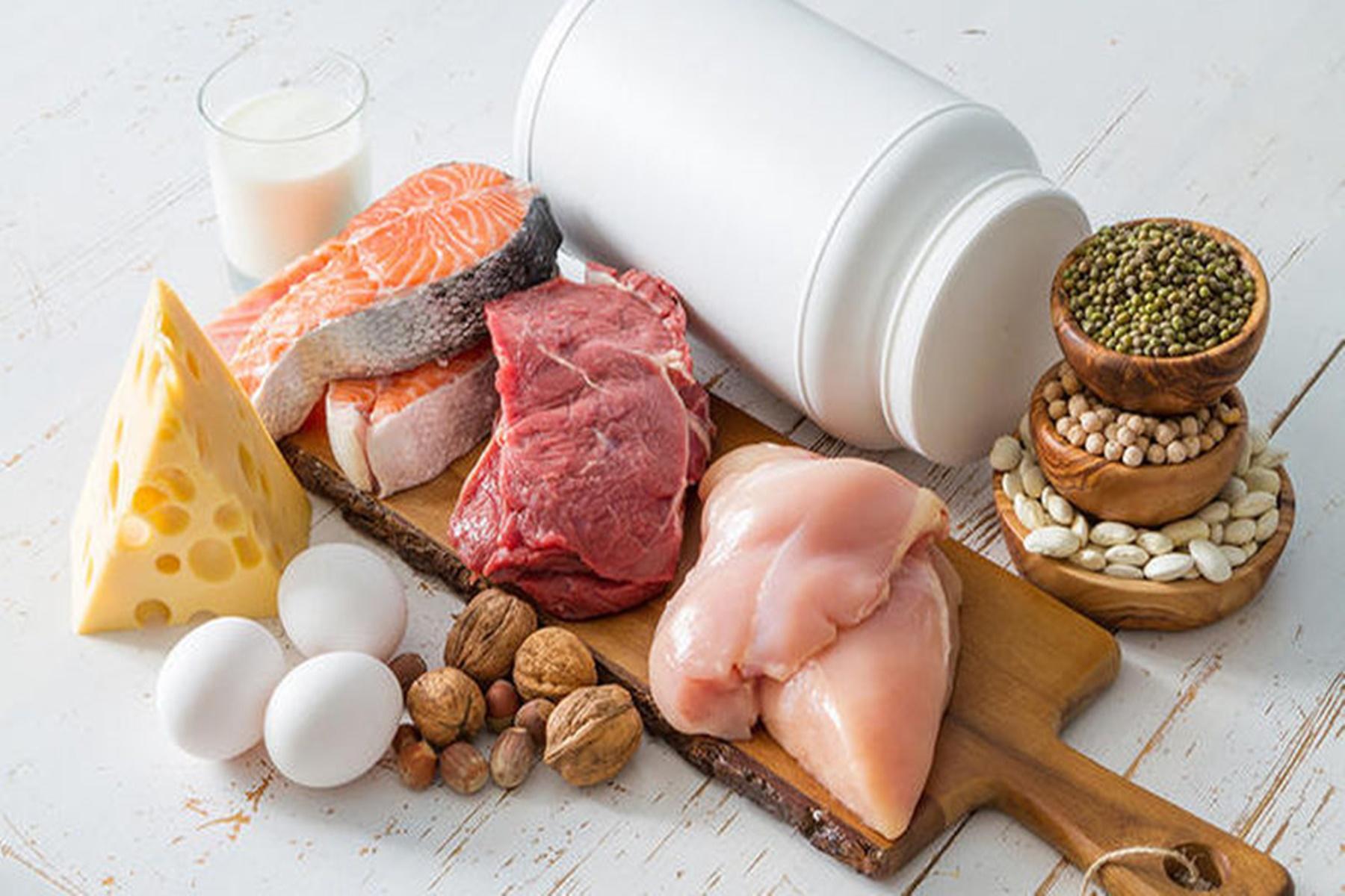 Διατροφή : Τρόφιμα με υψηλή περιεκτικότητα σε πρωτεΐνες