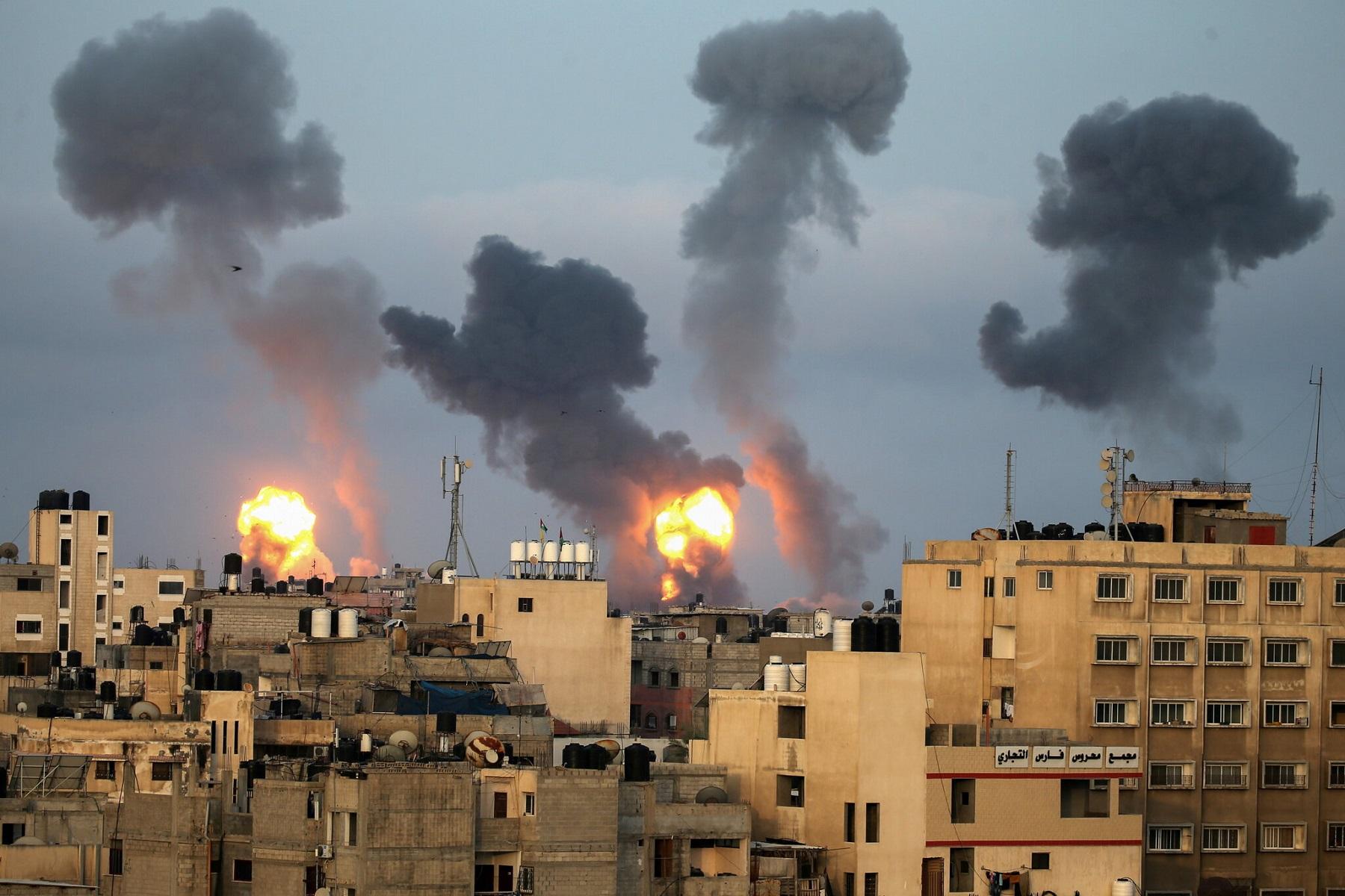 Ισραηλινή Επιδρομή: Οι ρουκέτες της Χαμάς στοχεύουν στο Τελ Αβίβ λόγω του χτυπήματος του πύργου της Γάζας