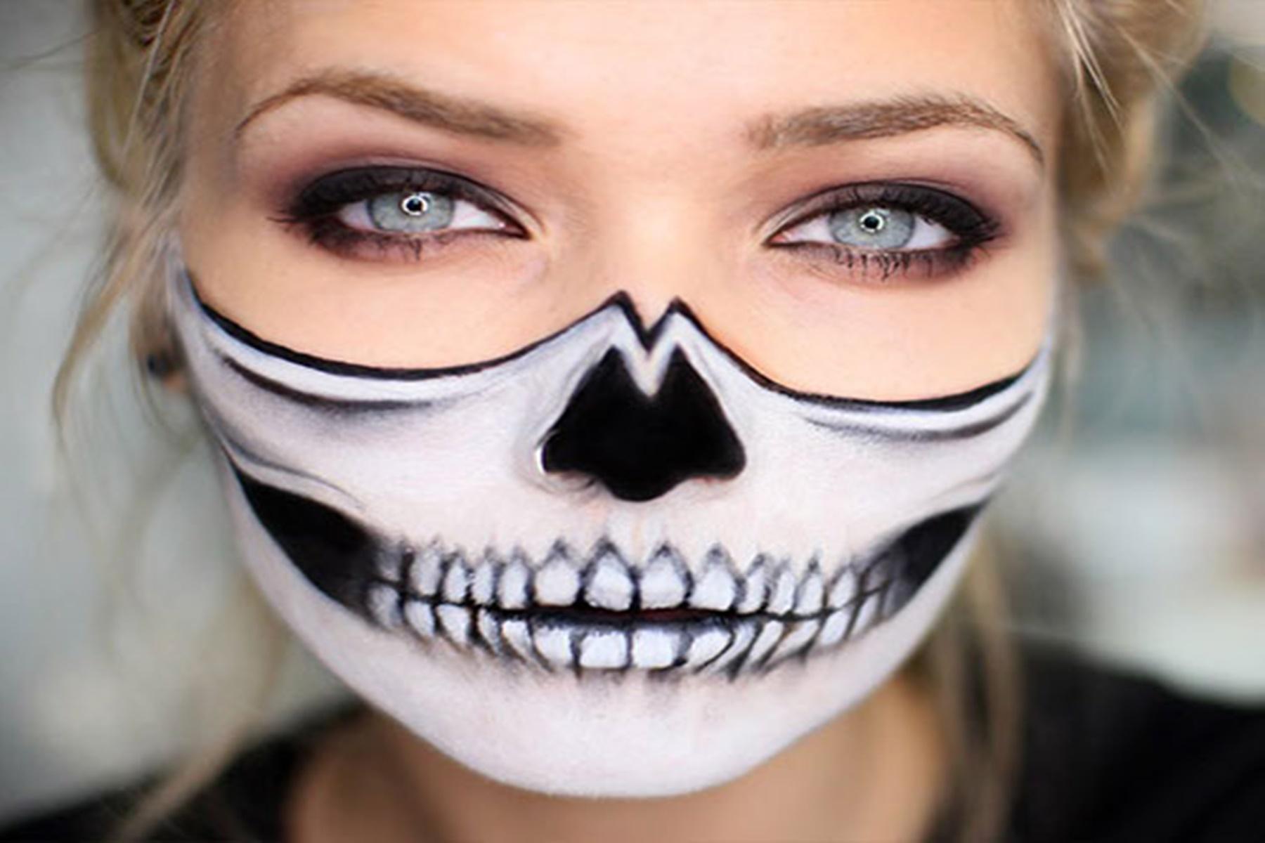 Ομορφιά Halloween : Φτιάξτε μόνοι σας το ραμμένο στόμα