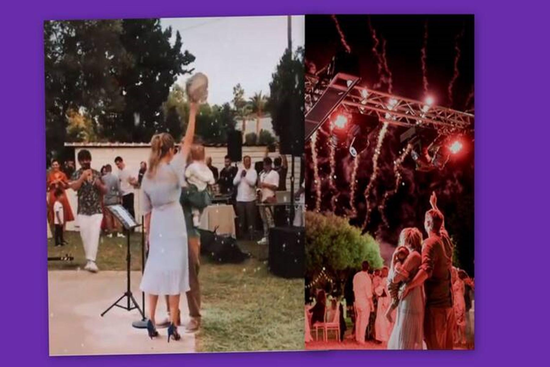 Αλέξανδρος Μπουρδούμης Λένα Δροσάκη : Δείτε τα βαφτίσια του γιού τους