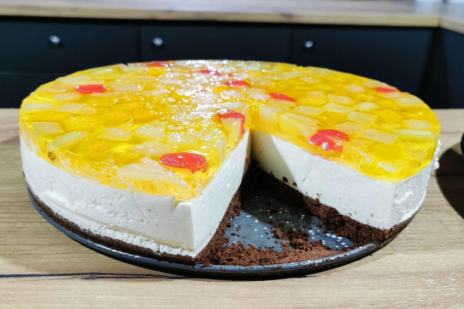 Ελαφρύ Επιδόρπιο: Δροσερό γιαουρτογλυκό με κοκτέιλ φρούτων και μπισκότα!!!