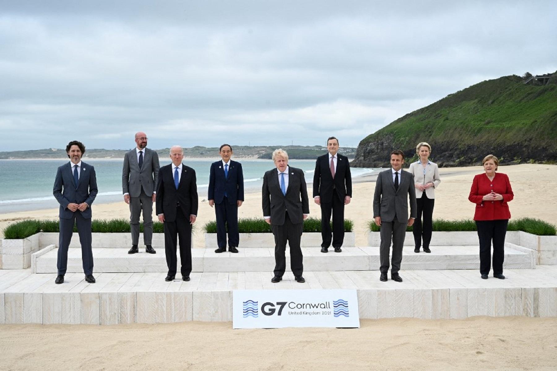 Συμμαχία ΗΠΑ-Ευρώπη: Οι ηγέτες του φόρουμ G7 περιγράφουν το σύμφωνο πανδημίας
