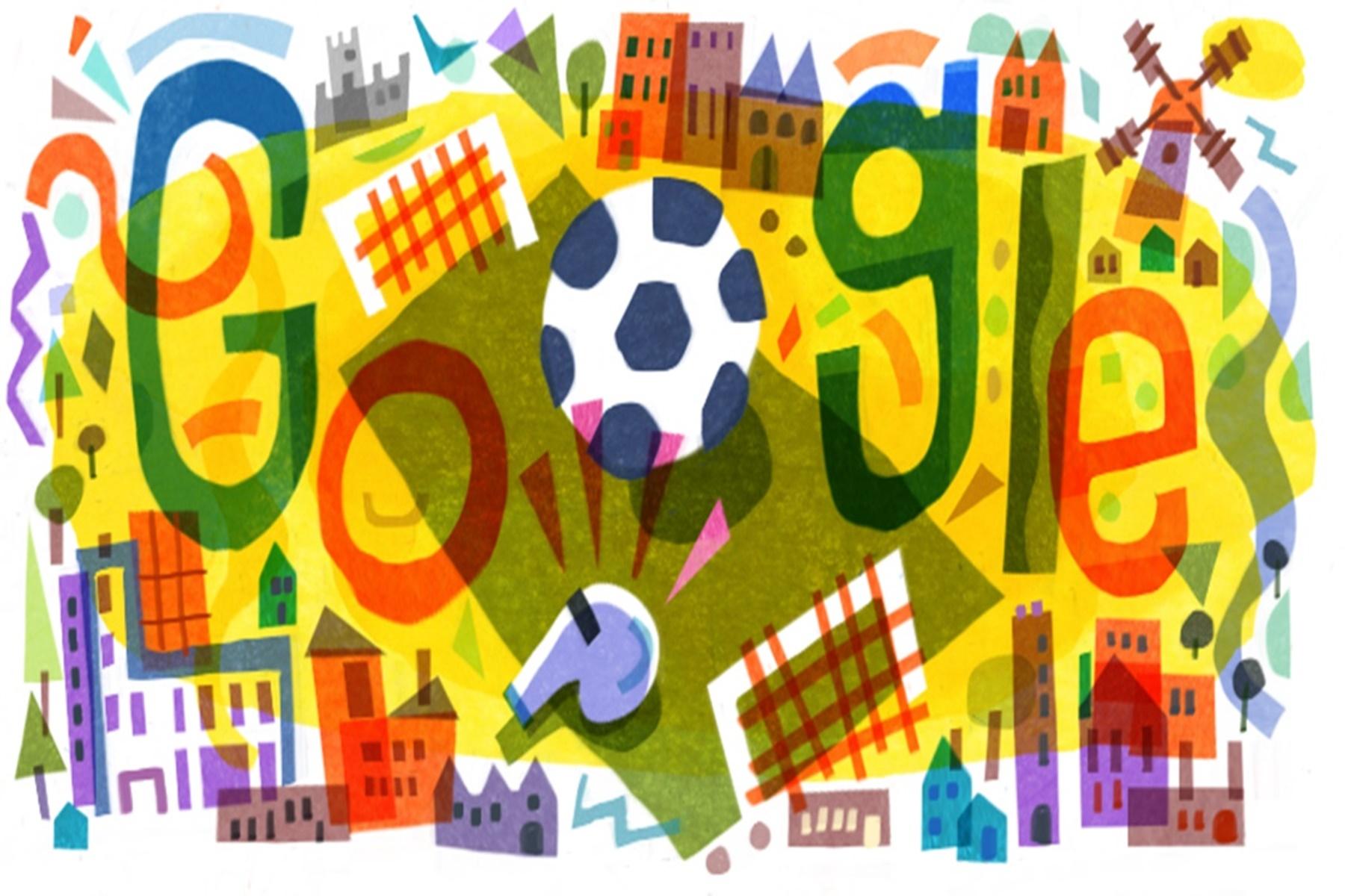 Google Doodle: Η UEFA Euro 2020 ξεκινάει