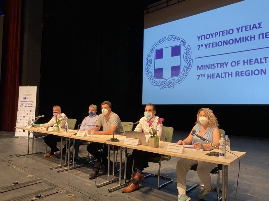 Βασίλης Κικίλιας: Ξεκινούν από την Κρήτη στις 6 Ιουλίου οι εμβολιασμοί από κινητές μονάδες του Υπ. Υγείας