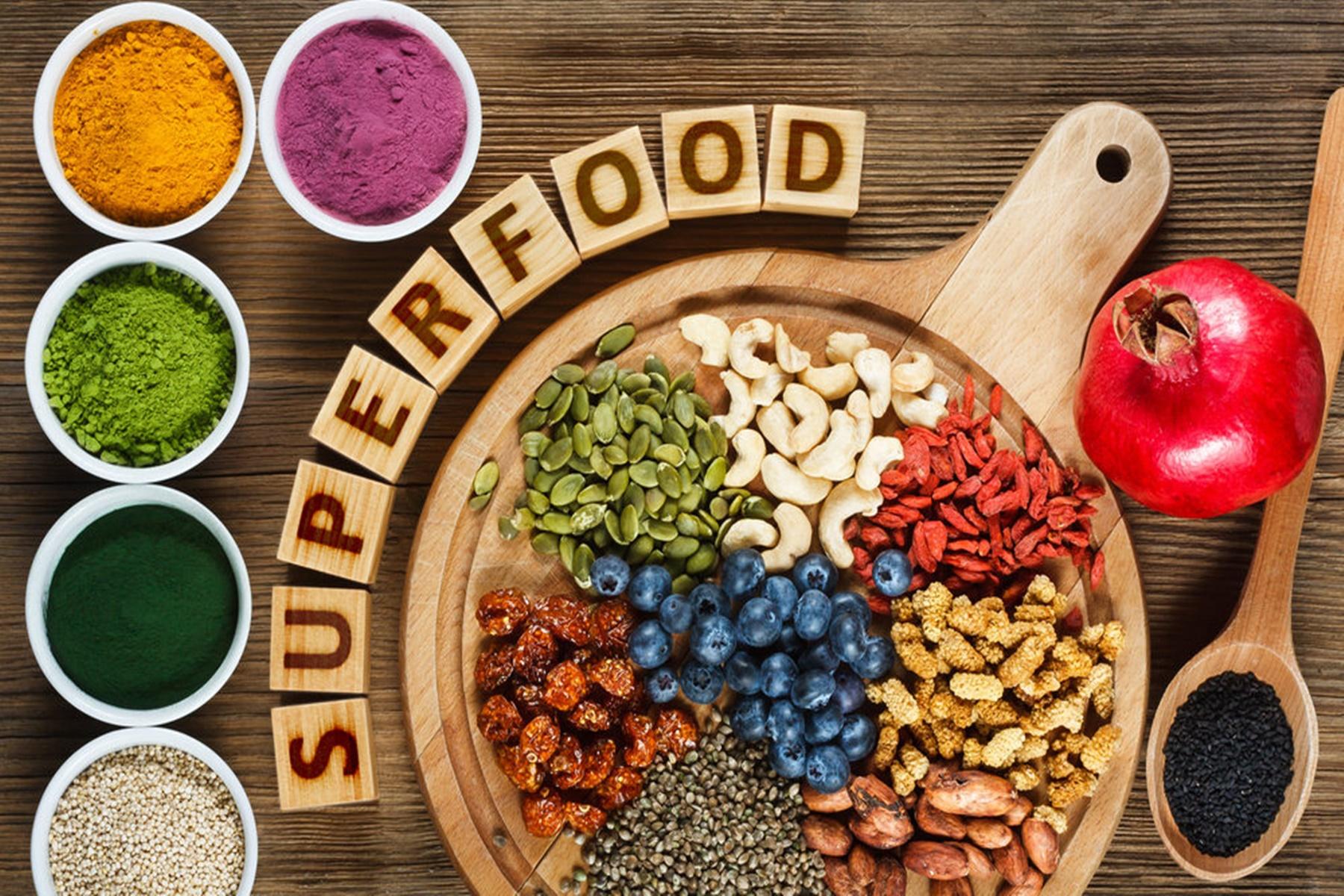 Superfoods : Υγιεινές υπερτροφές