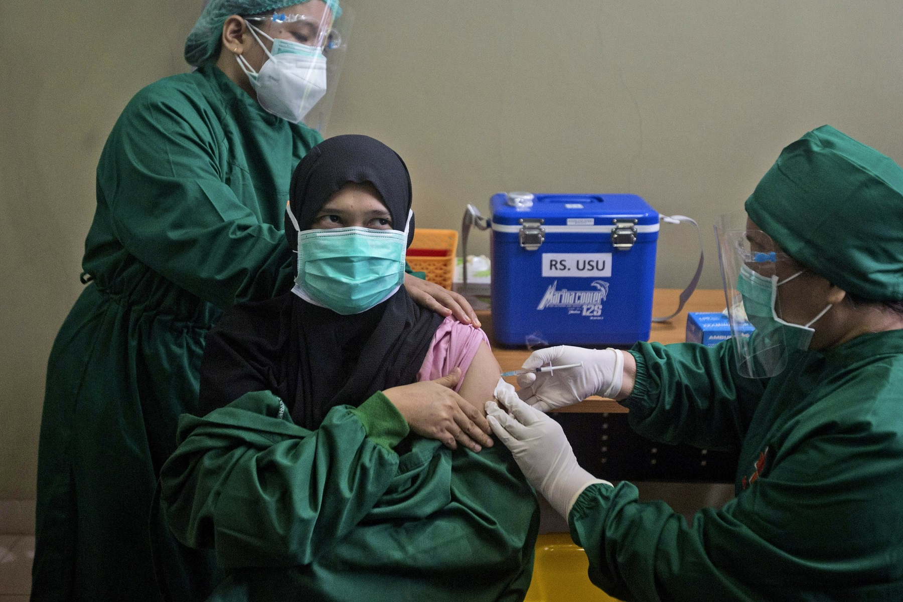 Αποθέματα Εμβολιασμοί: Τα έθνη της Νότιας Ασίας απευθύνονται στην Κίνα και τη Ρωσία για βοήθεια εμβολίων