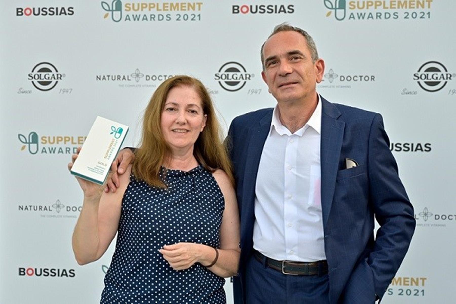 WinMedica : Βραβεύτηκε για το συμπλήρωμα διατροφής που ανακάλυψε