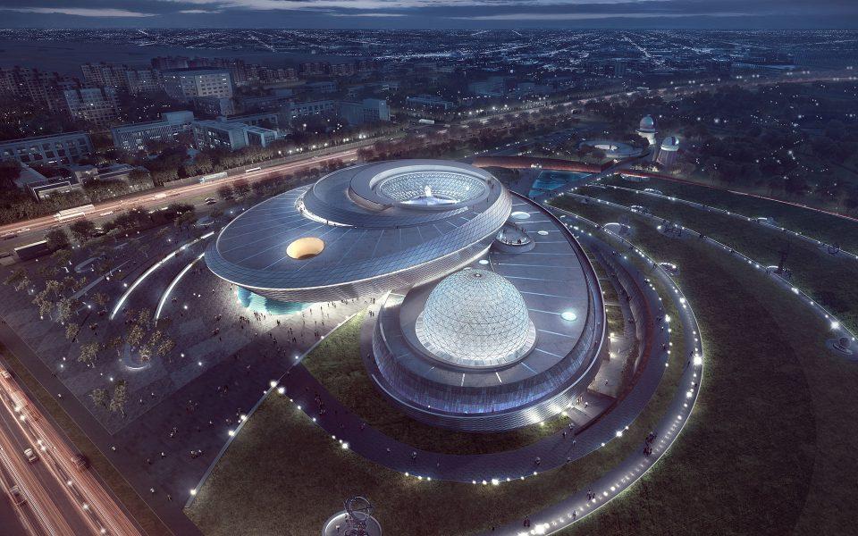 Σανγκάη: Έτοιμο να υποδεχτεί κοινό το μεγαλύτερο μουσείο αστρονομίας παγκοσμίως [pic]