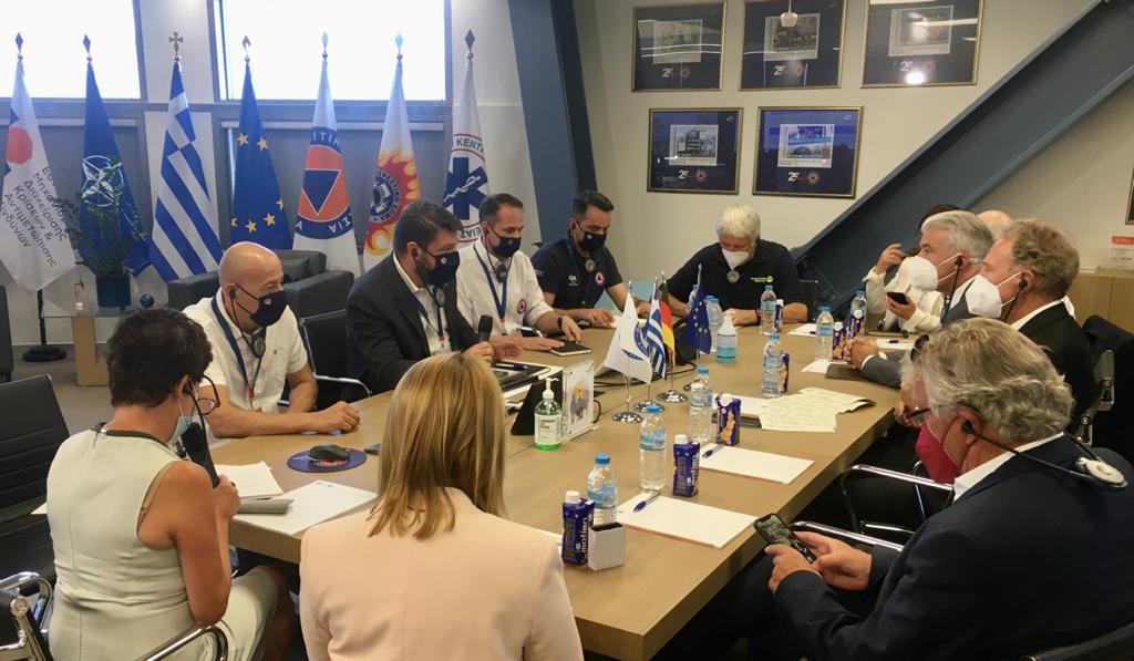 Συνάντηση Νίκου Χαρδαλιά με Norbert Barthle: Συνεργασία Ελλάδας-Γερμανίας στον τομέα Πολιτικής Προστασίας