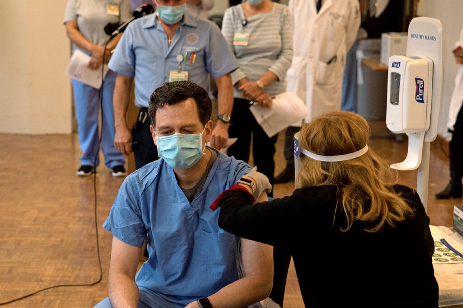 New Jersey: Αντίδραση αντιμετωπίζει το νοσοκομειακό σύστημα που απειλεί να απολύσει το μη εμβολιασμένο προσωπικό
