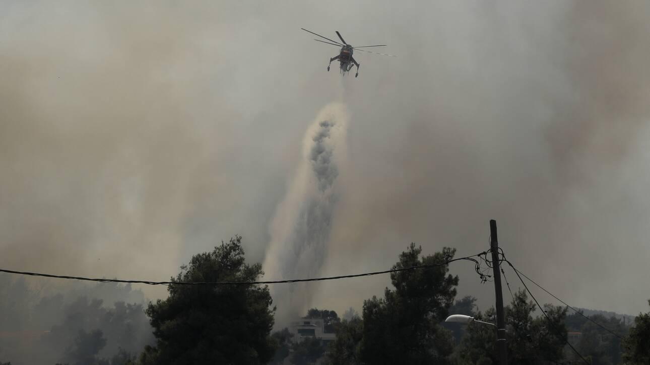Φωτιά Αχαΐα: Προληπτική εκκένωση δέκα οικισμών