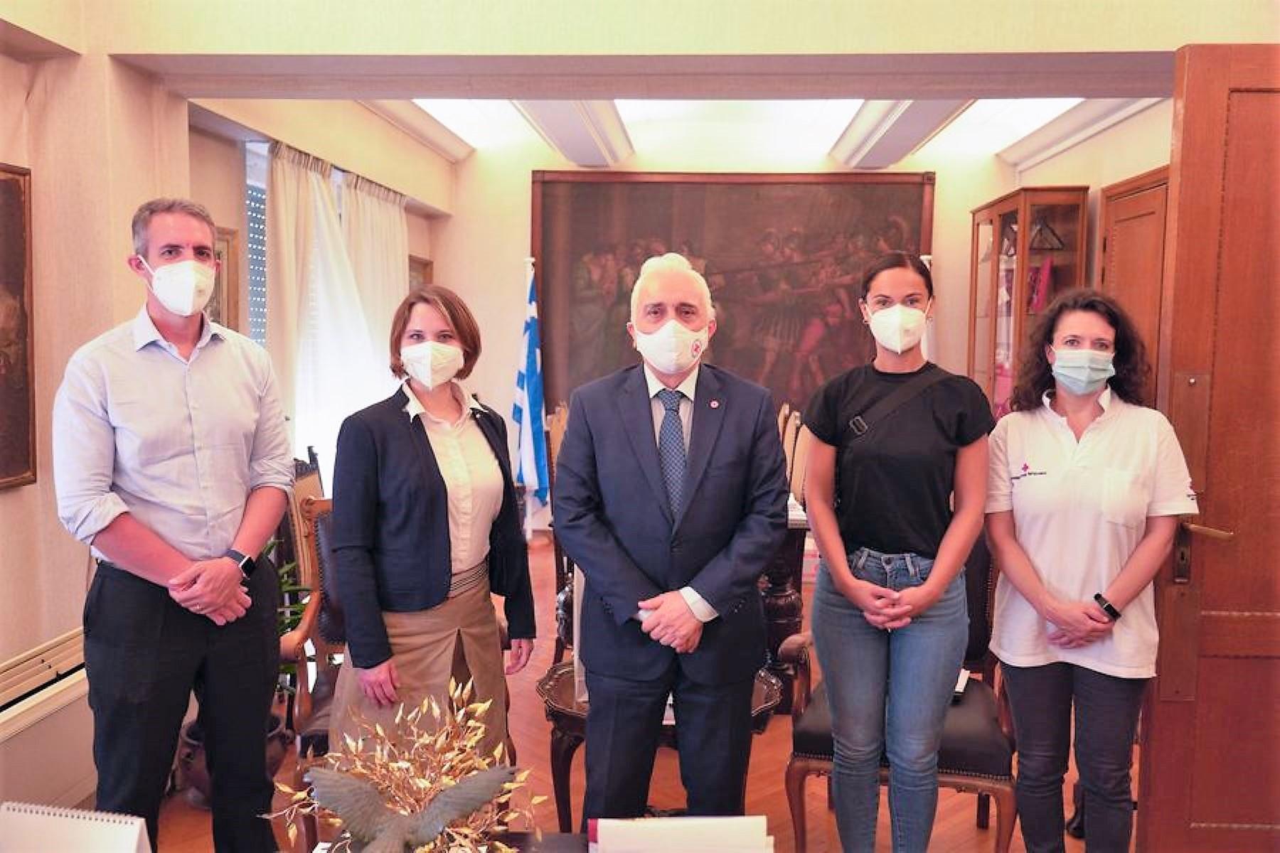 Γερμανικού και Αυστριακού Ερυθρού Σταυρού: Κλιμάκια στη Μυτιλήνη