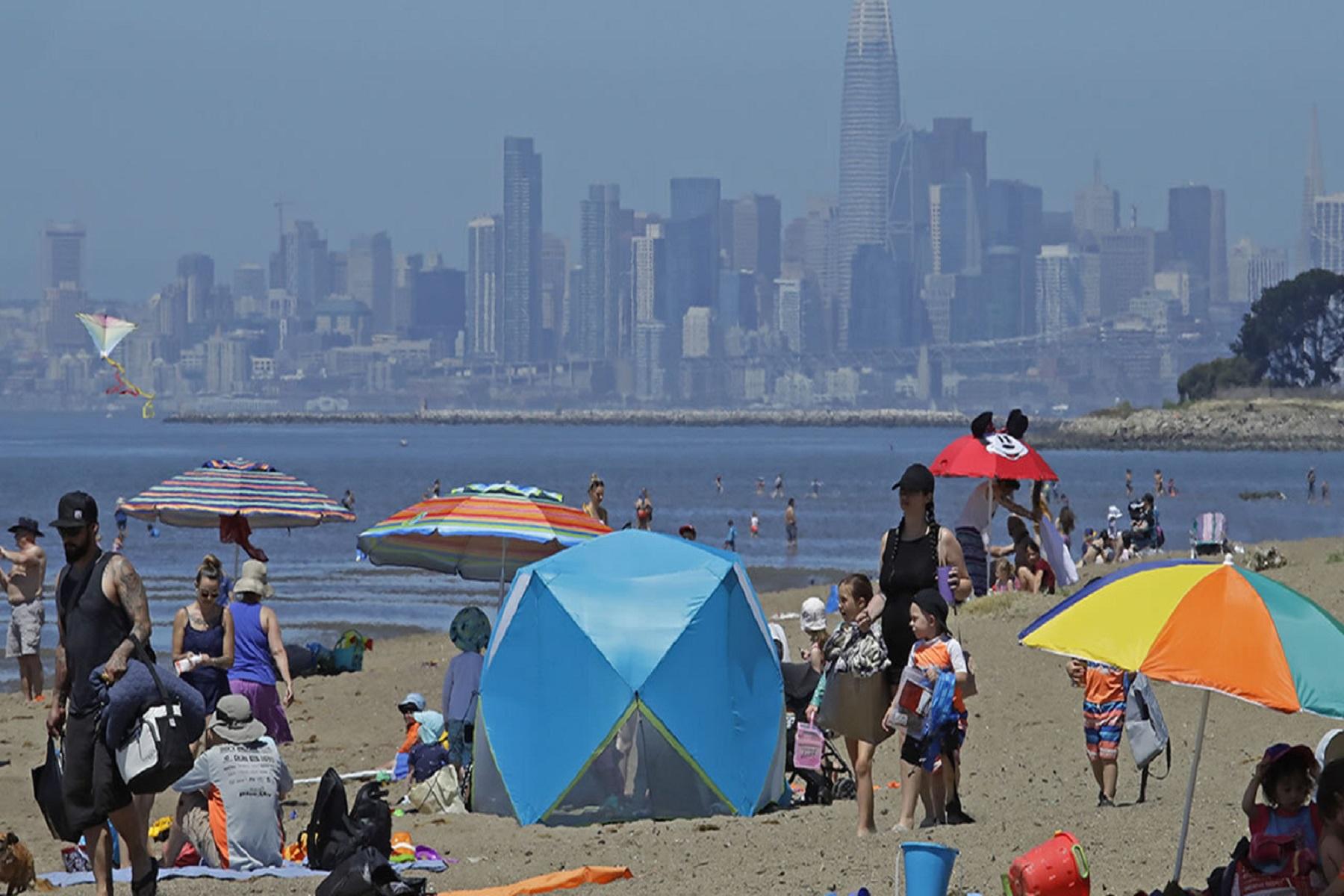ΗΠΑ Καλιφόρνια: Ένα ακόμη ακραίο κύμα θερμότητας που θα διαρκέσει την επόμενη εβδομάδα