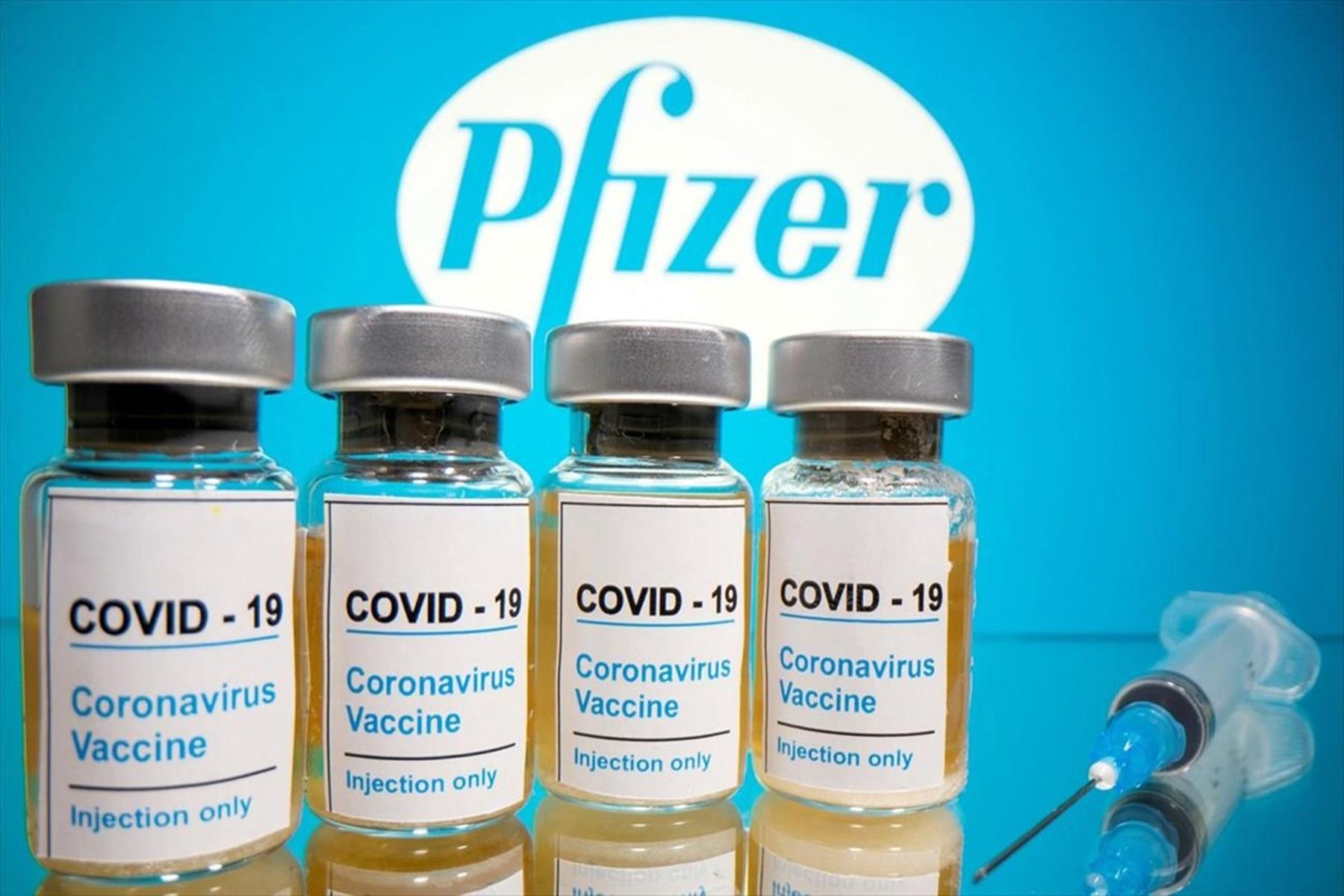Μελέτη ΕΚΠΑ: Τα 9 ευρήματα για το εμβόλιο των Pfizer/BioNTech