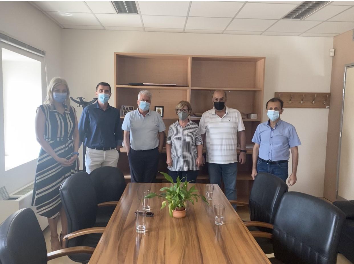 Ένωση Ασθενών Ελλάδας: Επίσκεψη της Ένωσης στις εγκαταστάσεις του Εθνικού Κέντρου Αιμοδοσίας