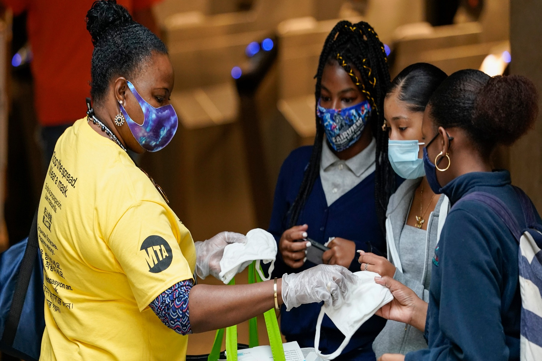 ΗΠΑ Εκπαίδευση: Μάσκα στο σχολείο «ανεξάρτητα από την κατάσταση εμβολιασμού» λένε οι παιδίατροι