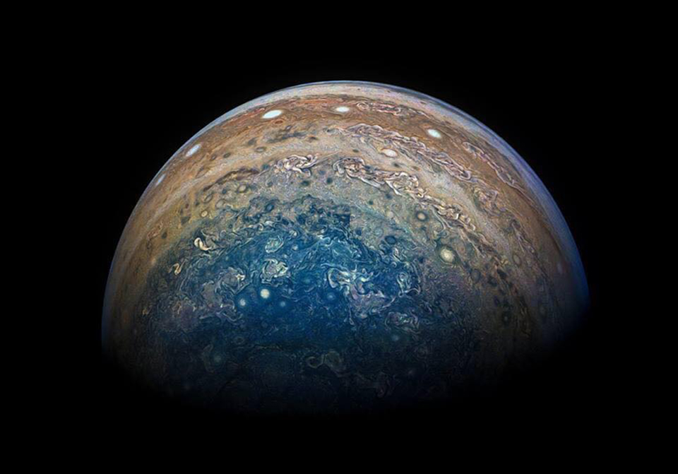 NASA: Με μουσική Β. Παπαθανασίου, το Juno κάνει το ταξίδι του σε Δία και Γανυμήδη [vid]