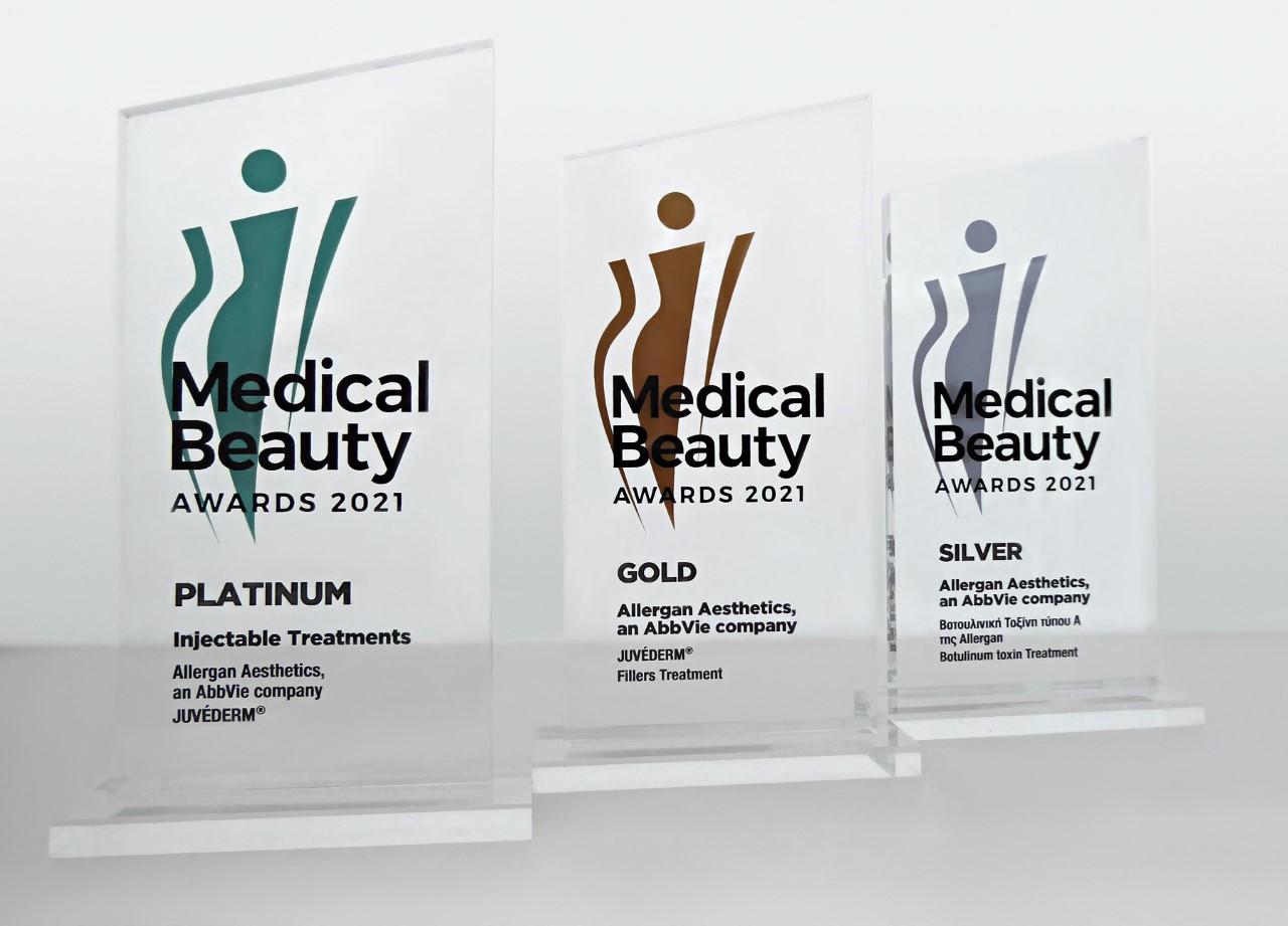 Allergan Aesthetics: Σημαντικές διακρίσεις για την Allergan Aestheticsστα Medical Beauty Awards 2021