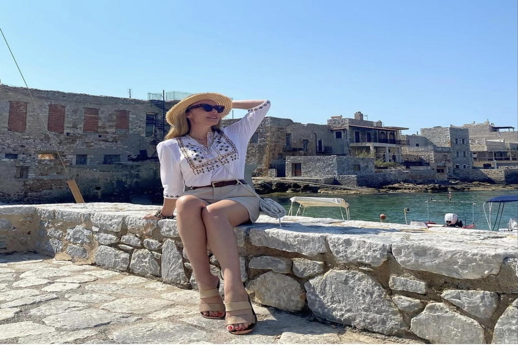 Τατιάνα Στεφανίδου :Δείτε ποιο μέρος διάλεξε να κάνει διακοπές