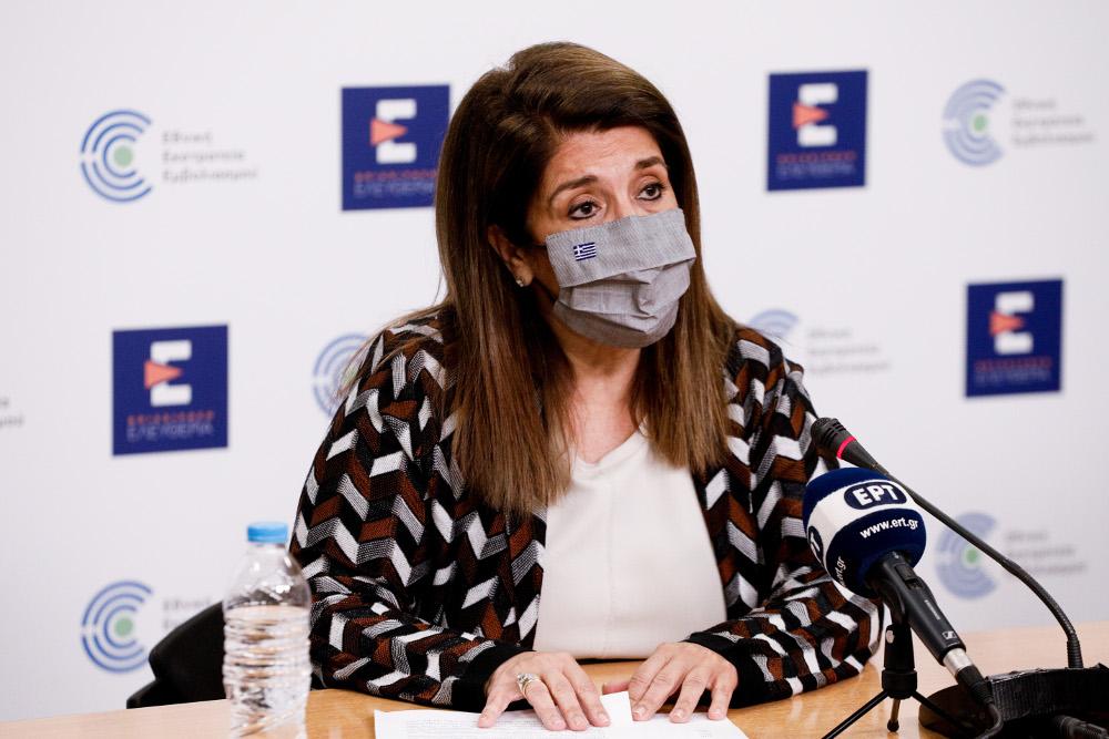 Βάνα Παπαευαγγέλου: Μετακίνηση νέων κρουσμάτων σε ανεμβολίαστους άνω των 40 ετών