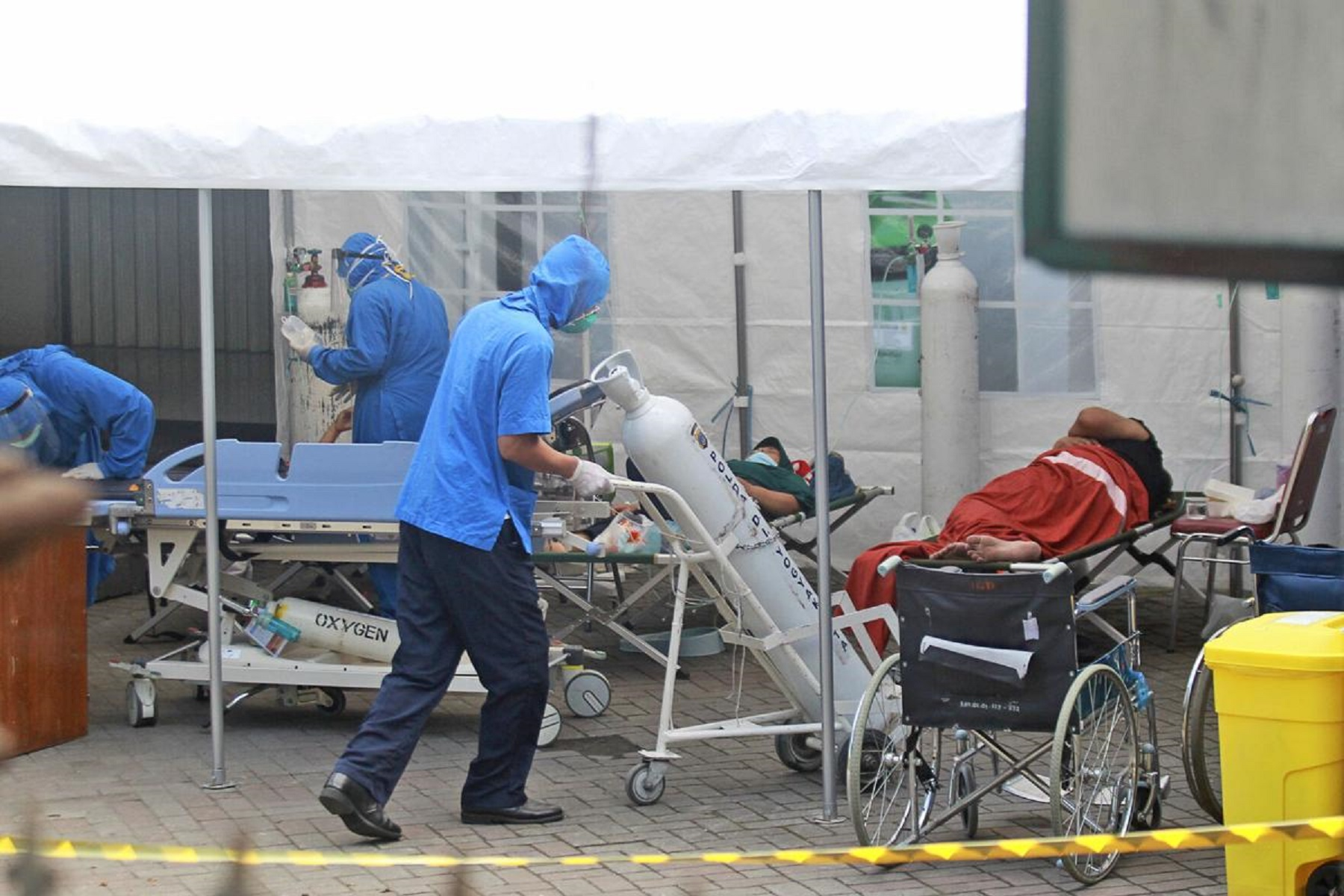 Νοσοκομείο Μιζούρι: Αντιμετωπίζει έλλειψη αναπνευστήρων εν μέσω της αύξησης των νοσηλειών COVID-19