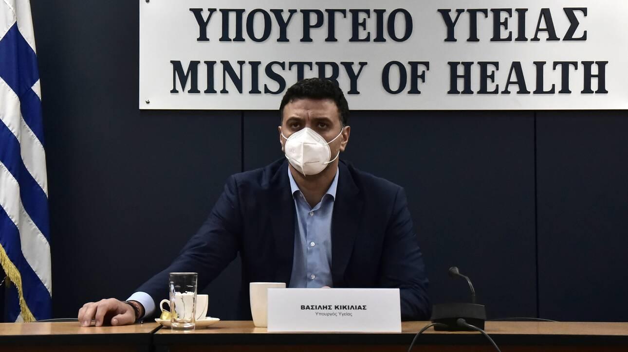Βασίλης Κικίλιας: «Φρένο» στους ανεμβολίαστους πολίτες, τι θα ισχύει με τα τεστ