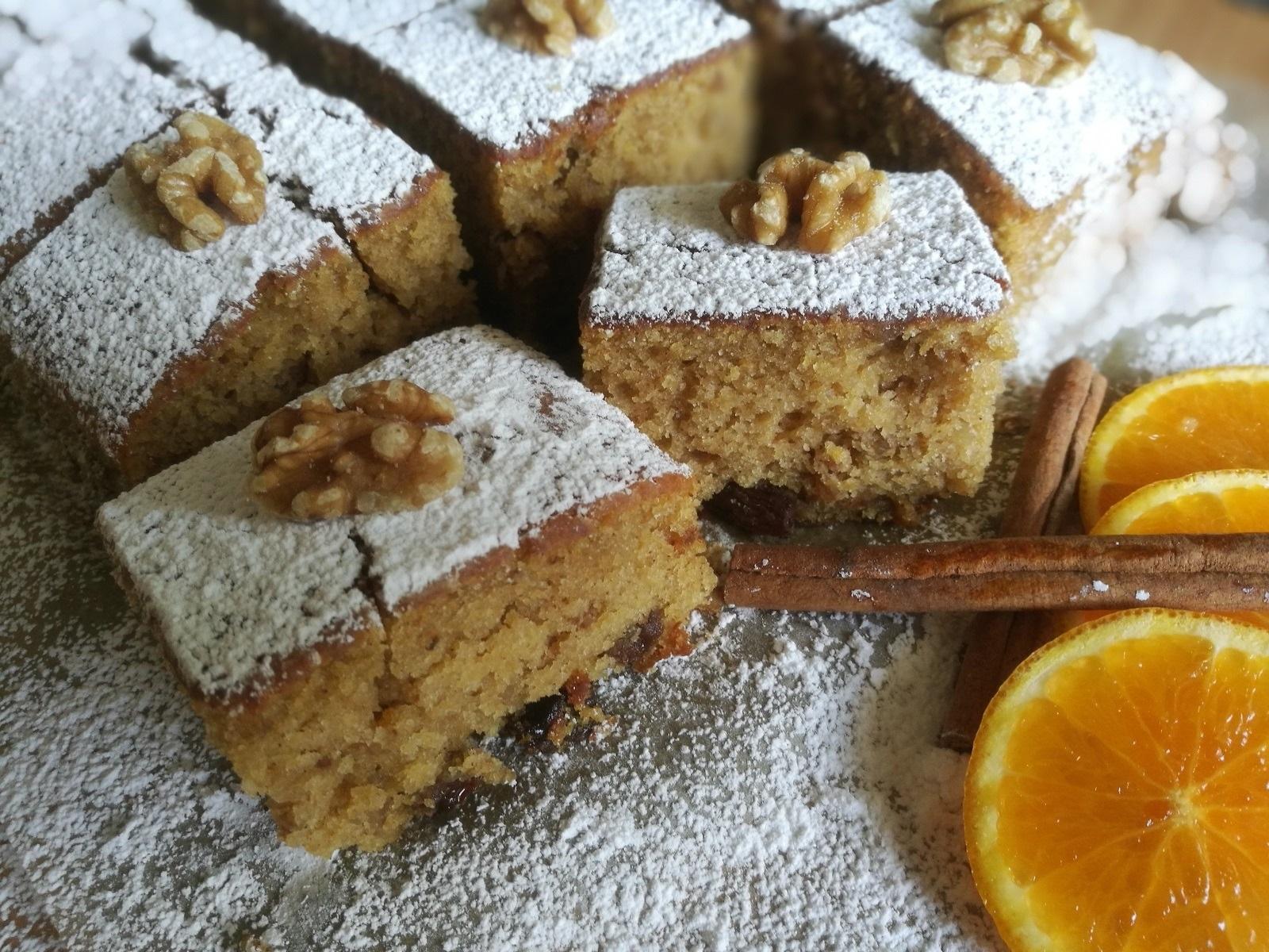 Γλυκά Νηστίσιμα: Πίτα του Αγίου Φανουρίου
