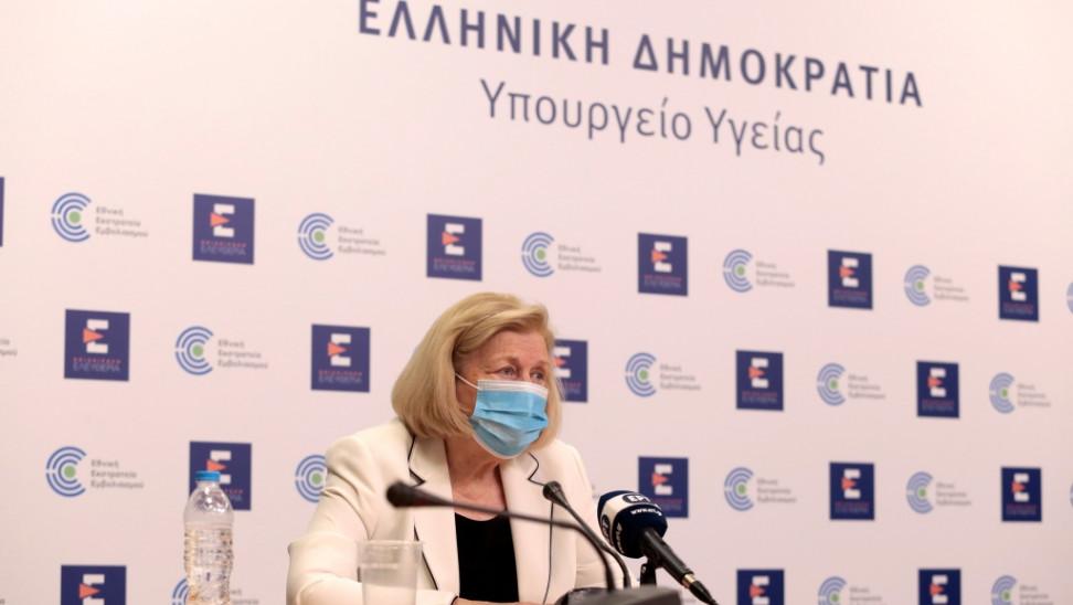Μ.Θεοδωρίδου: Ασφαλές το εμβόλιο καθόλη τη διάρκεια κύησης-Εξετάζεται χορήγηση γ' δόσης στους άνω των 60