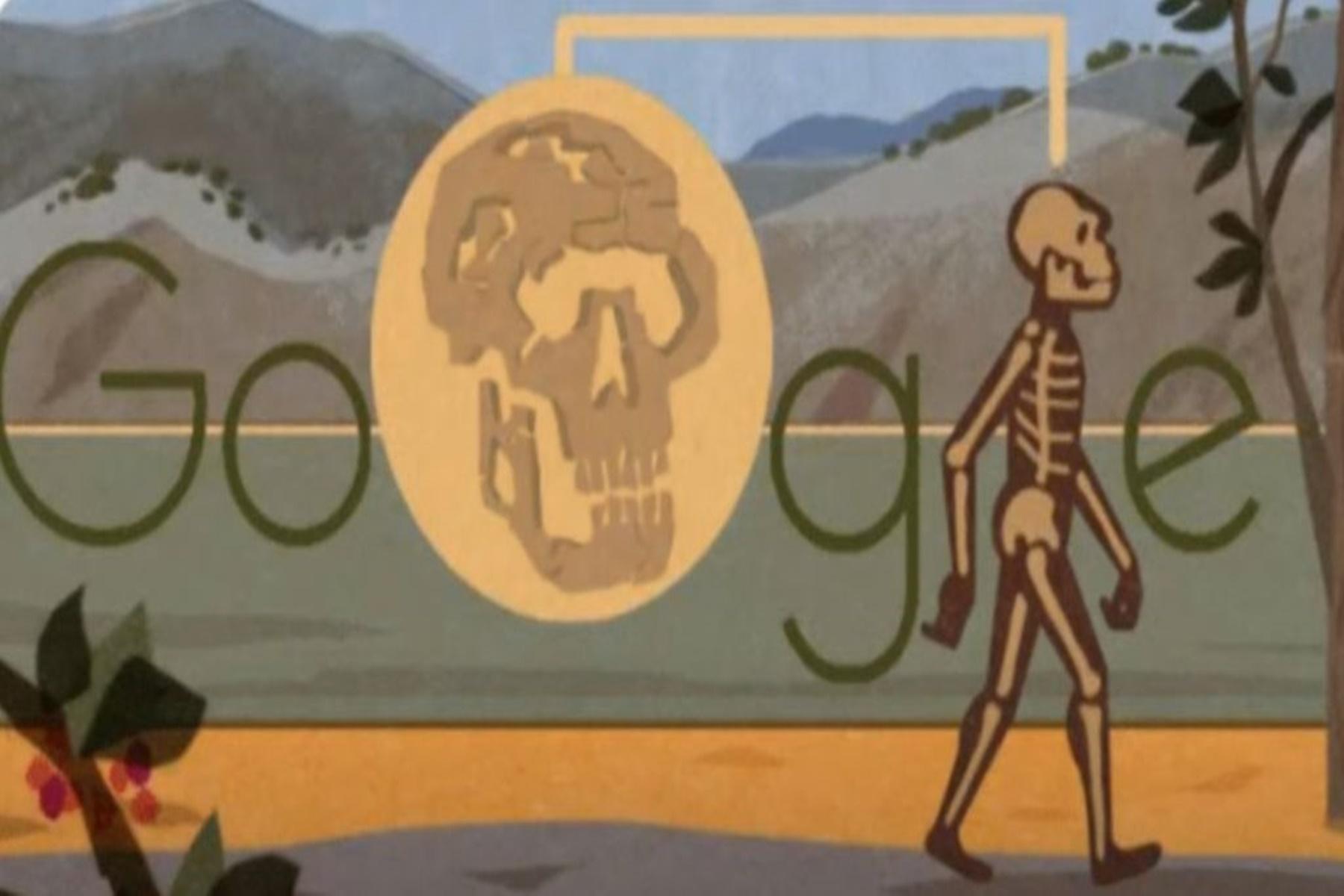Google Doodle : Αφιέρωμα στο Turkana Boy