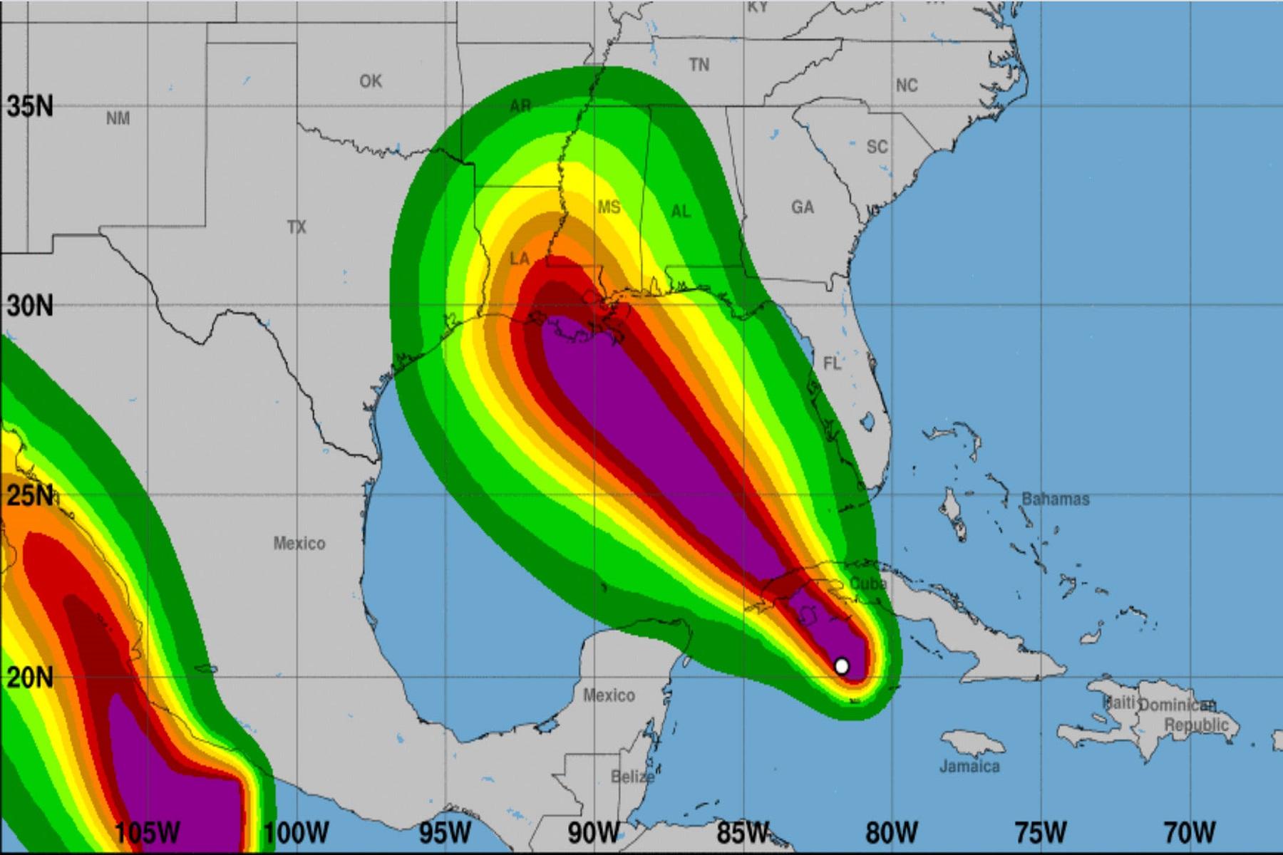 ΗΠΑ Μετεωρολόγοι: Ο τυφώνας Ίντα θα είναι «μια καταιγίδα που θα αλλάξει τη ζωή»