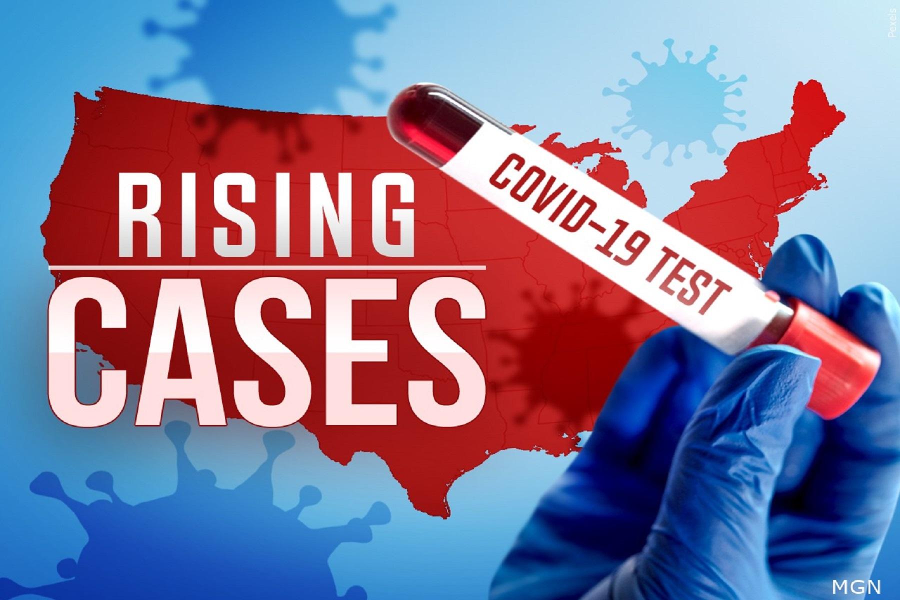 ΗΠΑ Κρούσματα: Υπολογίζουν κατά μέσο όρο 100.000 νέες μολύνσεις COVID-19 την ημέρα