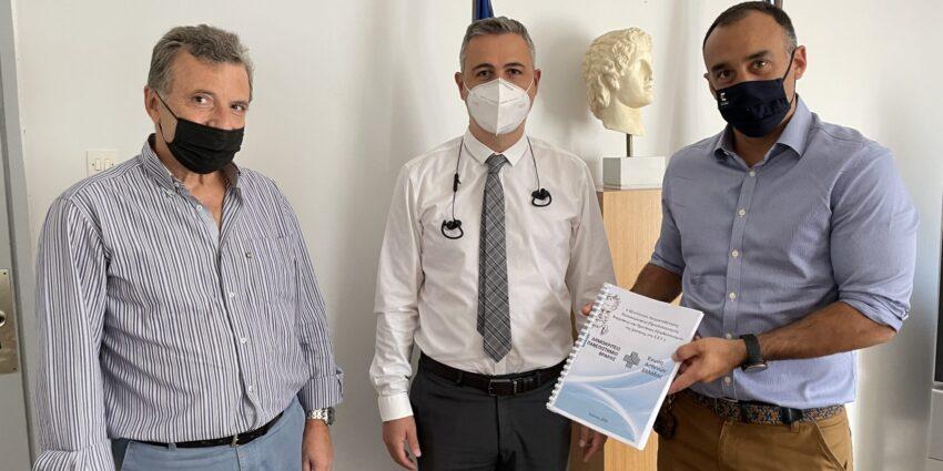Ένωση Ασθενών Ελλάδας: Επίδοση ευρημάτων μελέτης στον ΓΓ Υπηρεσιών Υγείας για εξορθολογισμό νοσοκομειακής δαπάνης