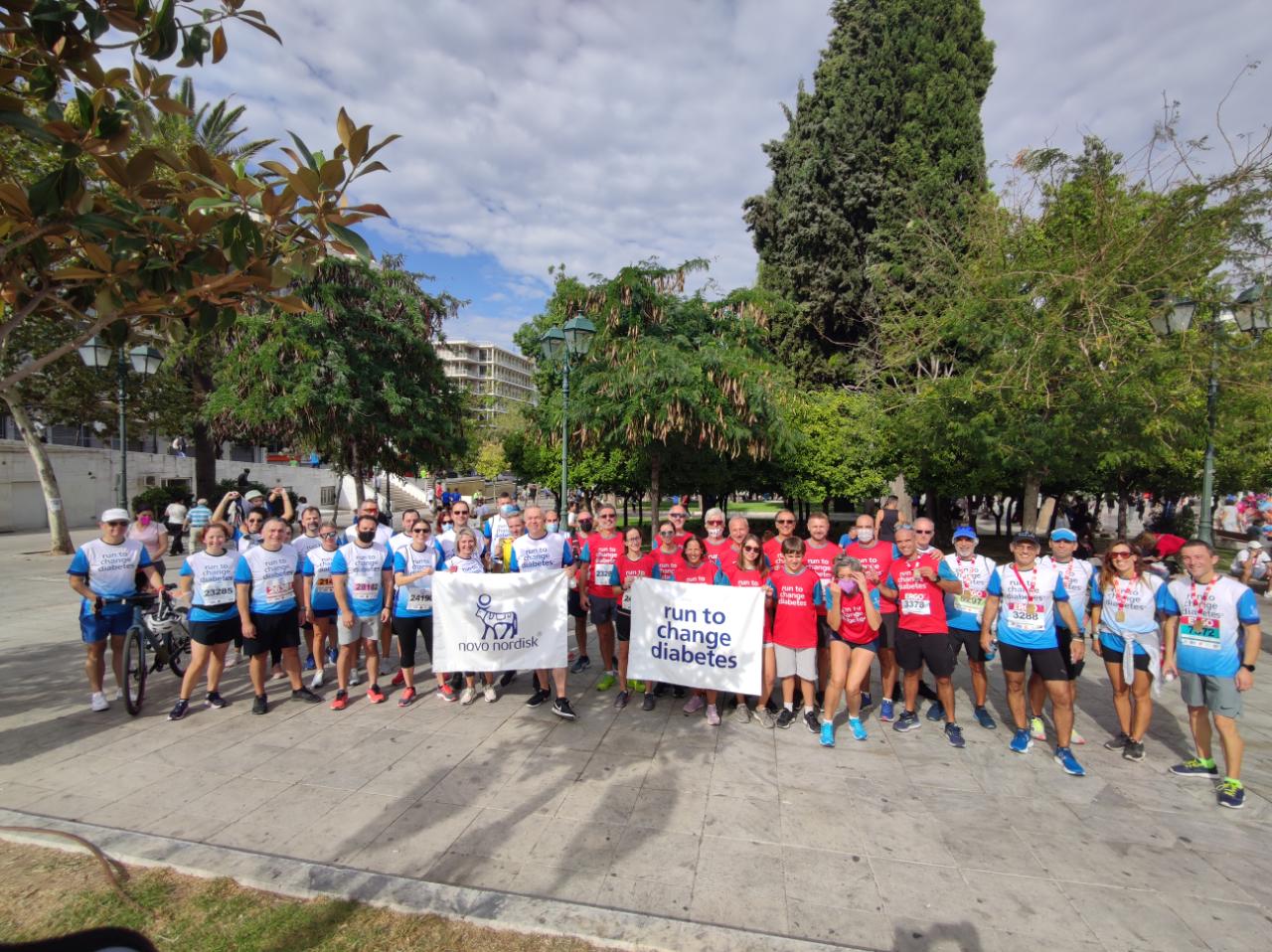 Novo Nordisk Hellas : Τρέχουμε για να αλλάξουμε το Διαβήτη