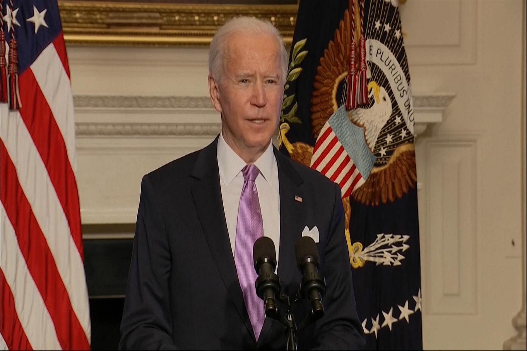 Πρόεδρος ΗΠΑ Μπάιντεν: Επενδύει 2,1 δισεκατομμύρια δολάρια στον έλεγχο των λοιμώξεων