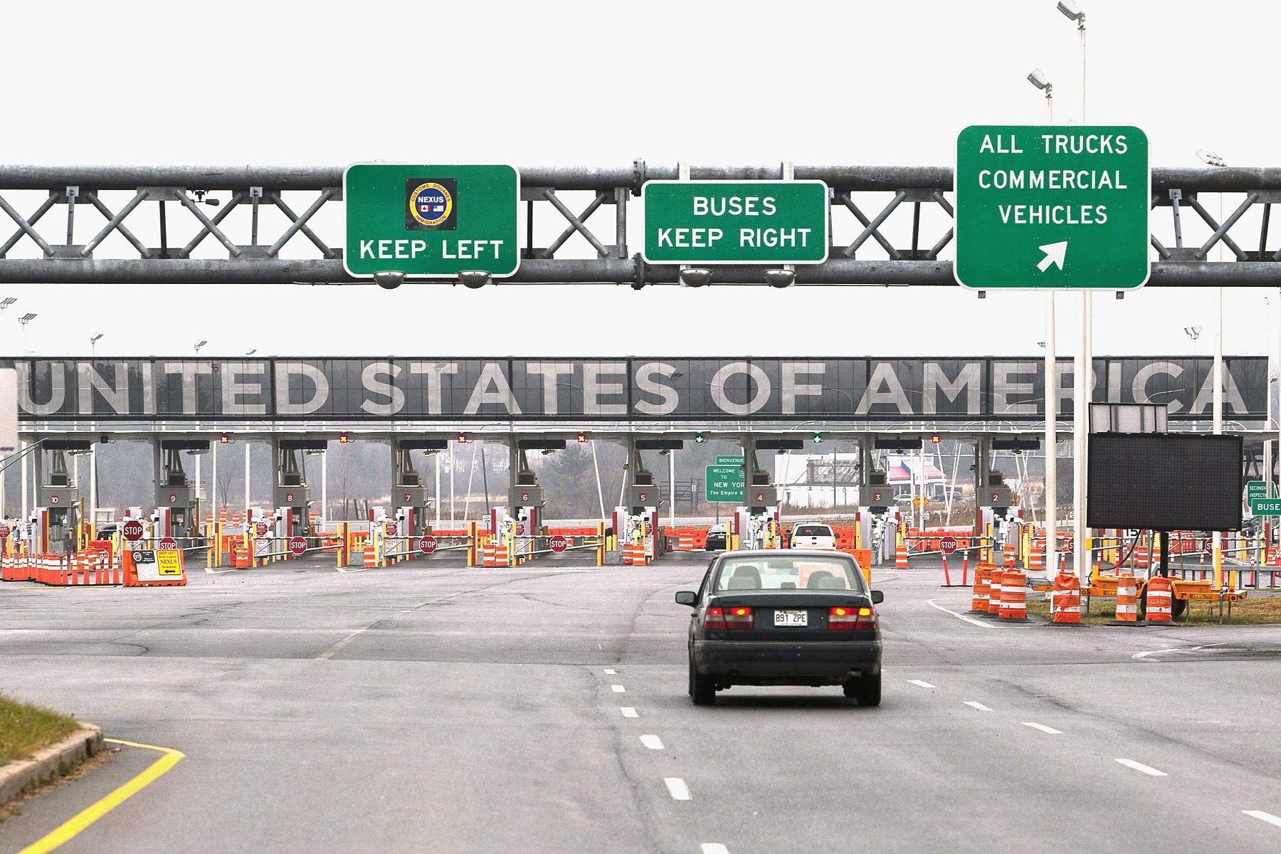 ΗΠΑ: Παρατείνουν το κλείσιμο των συνόρων με τον Καναδά και το Μεξικό έως τις 21 Οκτωβρίου