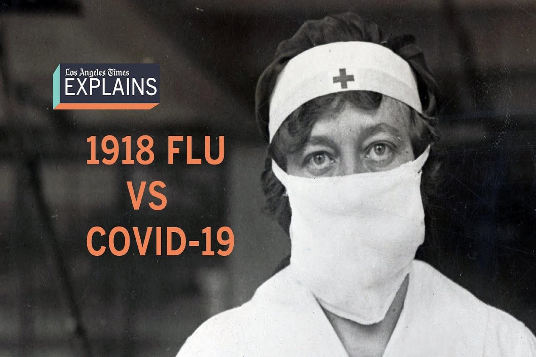 ΗΠΑ Θάνατοι: Η covid-19 έχει σκοτώσει περίπου τόσους Αμερικανούς όσο η γρίπη του 1918-19
